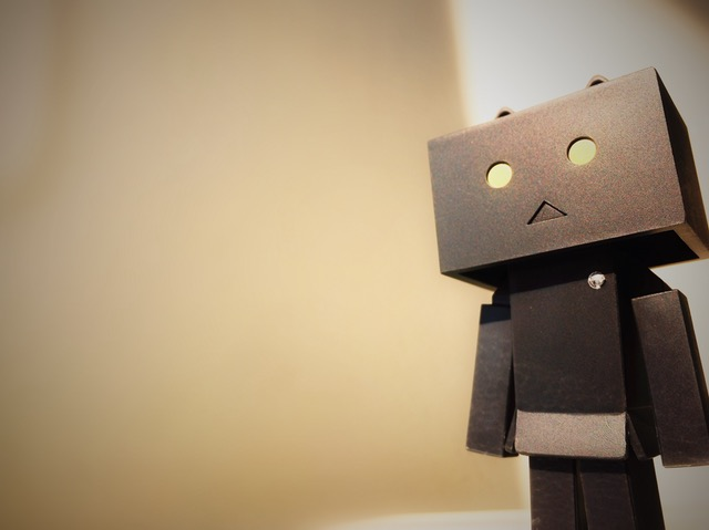 Don't be a robot in a crisis
